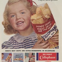 Have Some Chips - They're Scrumtious, Saturday Evening Post, 1953, Courtesy of the Hagley Museum & Library