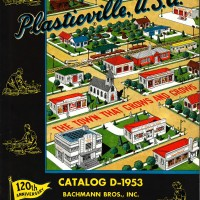 Plasticville catalogus, 1953. Bachmann Trains